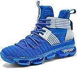 Garçon Chaussures de Basketball Mixte Enfant Fille Baskets Mode Sneakers, 1-rouge, 36 EU