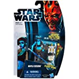 Hasbro Star Wars 2012 Clone Wars Basic Figure Ira Secura / Star Wars 2012 The Clone Wars Action Figure CW14 Aayla Secura [parallel import] (japan import)