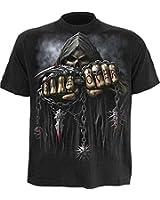 Spiral - Men - GAME OVER - T-Shirt Black