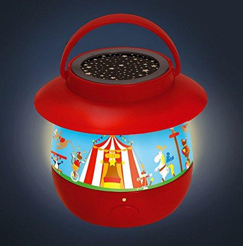 Scratch 6182317–Luz nocturna Circo, varios juguetes