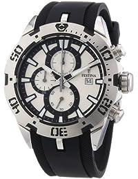 Festina Herren-Armbanduhr XL Chronograph Quarz Kautschuk F16672/1
