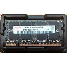 Hynix hymp125s64cp8 S6 - 2 GB 1,8 V 200 pin SODIMM 2Rx8 PC2 - 6400s - ordenador portátil 666-12 800 mhz DDR2/memoria para portátiles