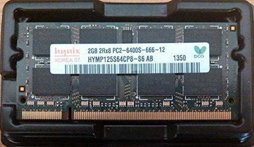 RAM Hynix Notebook 2GB DDR2 SO-DIMM PC 2-6400S 666-12 666MHz HYMP125S64CP8-S6 Laptop Ddr2 Ram