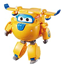 """Super Wings Transforming Vehicle - Series 1 - Donnie - 5"""" Figure"""