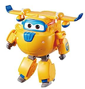 Super Wings- YW710220 Transforming Donnie, Color Azul (AuldeyToys