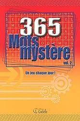 365 MOTS MYSTERE