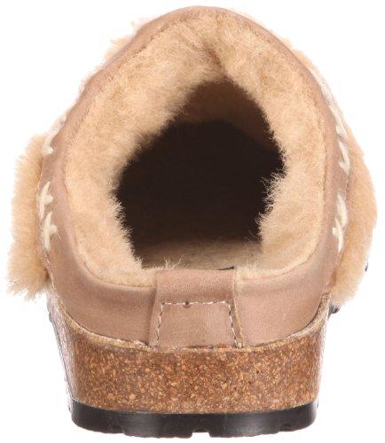 Haflinger Shetland 731003, Pantofole donna Beige (Beige/beigemeliert öko)