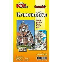 Krummhörn & Greetsiel: 19 Ortspläne der Gemeinde Krummhörn in 1:7.500 und Freitzeitkarte 1:25.000 inkl. Radrouten und Wanderwegen (KVplan Ostfriesland-Region / http://www.kv-plan.de/Ostfriesland.html)