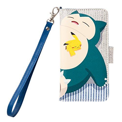 Pokemon Center Snorlax with original Universal flip cover M Strap
