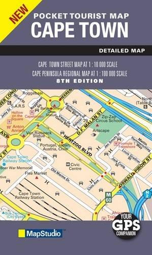 Cape Town & Region 2010 Pocket Map GPS  1 : 10 000