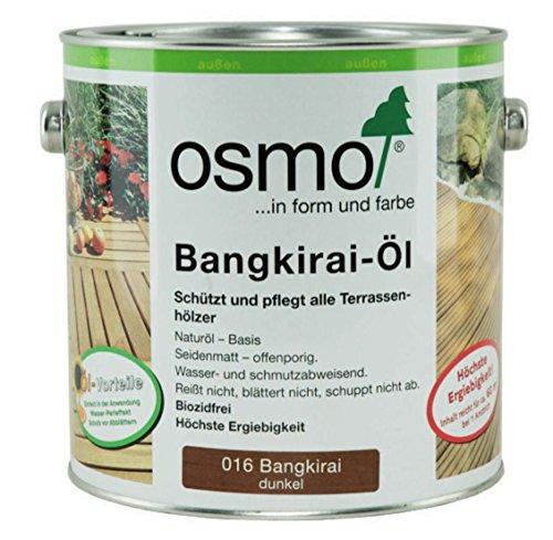 OSMO Bangkirai-Öl dunkel 016 seidenmatt 2,5L