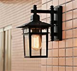 MMYNL Moderne Antik Wandlampe Retro Wandleuchte Vintage Wandlampen Wandleuchten für Schlafzimmer Wohnzimmer Bar Flur Bad Küche Treppe Lampen Wasserdicht und rostfrei Gartentür Wand Aluminium Lampen