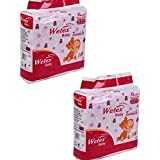 Wetex Baby Diapers Twinkle Medium (Above 12 Kg) 60 Pcs (2 Pack Of X 30 Pcs Each) (Small)