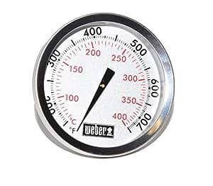Weber Ersatz Thermometer 67731–Center Mount 2–3/20,3cm