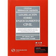 Legislación sobre Enjuiciamiento Civil (Papel + e-book) (Biblioteca de Legislación, Band 12)