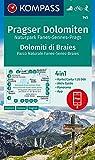 Carta escursionistica n. 145. Dolomiti di Braies-Pragser Dolomiten 1:25.000