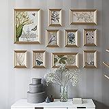 Telaio Photo wall frame Photo Wall polimerico ambientale moderno Minimalista Photo Combination Photo Frame 10 Design alla moda (Colore : A)