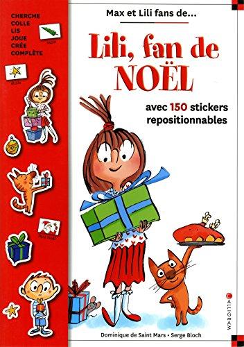 Lili fan de Noël : livre stickers