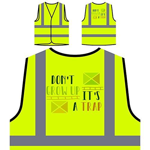 ne-pas-grandir-cest-un-piege-veste-de-protection-jaune-personnalisee-a-haute-visibilite-j619v