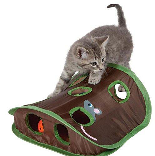 Ylen Plegable Gato Ratón de Caza Juguetes Interactivo...