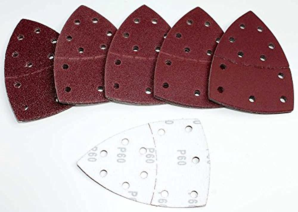 Haft Prio Mix Korn 40-60-80-120-180-240 120 Stk Schleifbl/ätter 105x152 mm f/ür Multischleifer z.B