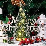 Lichterkette Led-Licht Weihnachtsbeleuchtung Kiefernnadel Abstauben Mini Weihnachtsbaum Warmes Licht Motiv-Lampen Weihnachten Desktop Dekoration Weihnachts Schmuck Christmas Tree
