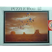 Educa 1,000 Piece Jigsaw Puzzle of Monument Valley USA by Educa Sallent
