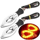 Motorrad-Turn-Signale Leuchten 12V universelle Motorrad-Wende Signal Indikator Blinker Bernstein-Licht Lampe für Yamaha Honda Suzuki Kawasaki