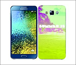 Galaxy Printed 2902 Summer Snapshot Love Hard Cover for Samsung CORE PLUS