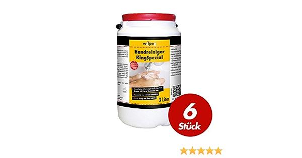 Wilpeg Kingspezial Handreiniger Seife Waschpaste Handwaschpaste 3l 6 Stück Baumarkt