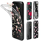 Coque Galaxy A5 2017 Étui Transparente , Leathlux Souple Silicone Étui Protection TPU Housse + [5 PCS Ultra Mince DIY Cartes Remplaçable au avec Motif Beau] Crystal Clair Coque pour Samsung Galaxy A5 2017 5.2 Pouces