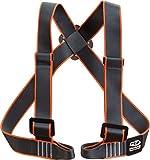 Climbing Technology Torse 7h149afctstd Geschirr, schwarz/orange, One Size