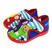 Teletubbies Slippers Kids Girls Boys First Walker Booties Toddler House Shoes