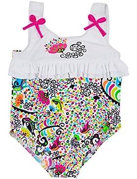 Splash About RSB3 - Bañador, con volantes para niña, color multicolor con diseño de L'historie de Birdy, 3-4 años