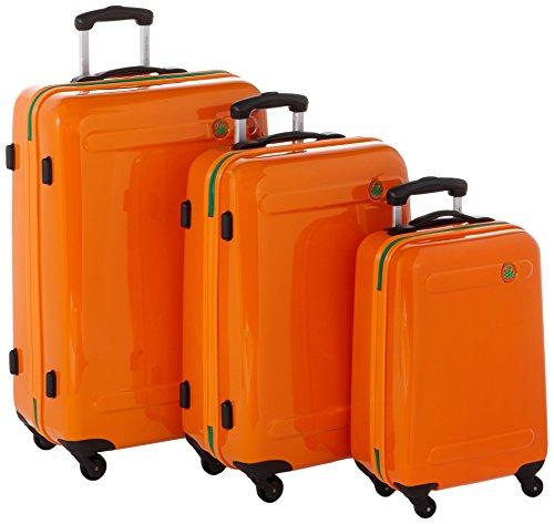 Benetton Trolley para portátiles, 76 cm, 210 L, Naranja