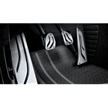 Original BMW Pedal cojines LHD Acero Inoxidable M Performance para 5 F10 F11 – Automático