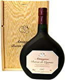 Rarität: Armagnac Baron de Cygnac 0,7l Jahrgang 1967 incl. Holzkiste