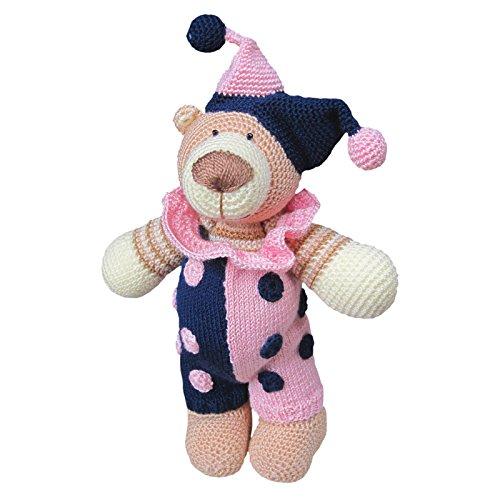 Kuscheldir Kuscheltier Teddy Klein Gehäkelt Wolle Stofftier