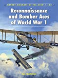 Reconnaissance and Bomber Aces of World War 1 (Aircraft of the Aces, Band 123)