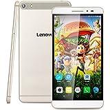 "Lenovo PHAB Plus 4G Lte - Tablet PC Smartphone Libre Android 5.0 (6.8"" IPS FHD, Octa Core, Dual Sim, 2Gb Ram 32Gb Rom, 13Mp Camara, WIFI GPS Bluetooth FM, Multi-Idioma), Dorado"