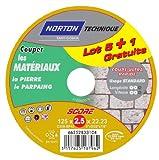 Norton score 5 1 Gratis Schleifsteine 100 m (125 x 2,5 x 22 mm