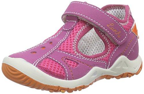 Lurchi Kally, Baby Mädchen Lauflernschuhe, Pink (fuchsia 23), 23 EU