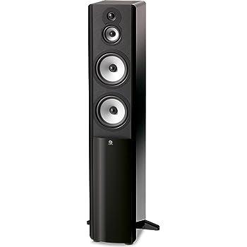 Boston Acoustics A 360 Dual 6.5-Inch Woofer Three-Way Floor Standing Speaker (Each, Gloss Black)
