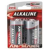 ANSMANN Red 1514-0000 Lr20 Mono D 2X Alcaline Batteria Alcaline