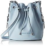 Armani Jeans  9222127p772, Sacs portés main femme - bleu - Blau (NEW LIGHT BLUE 11530), 18x29x25 cm (B x H x T)