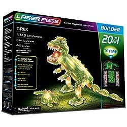 Laser Pegs 20010 T-Rex 20 en 1 Set de construcción
