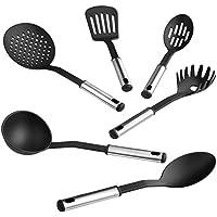 TecTake® Küchenbesteck Küchenhelfer Küchenutensilien Kochzubehör Set 6teilig