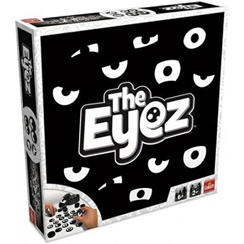 Goliath 30972 The Eyez | Familien- und Partyspiel mit lustigen Augenpaaren | spannendes Memory-Spiel | Aktions-Spiel für Kinder und Erwachsene fördert Konzentration | Gedächtnis-Spiel ab 6 Jahren