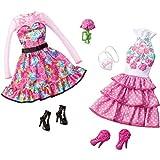 Barbie Mattel CBX04 Fab Life Sweet Garderobe Sortiment