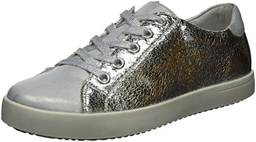 Rieker K5204, Sneakers Basses Fille Argent (Ice/silber / 90)